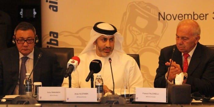 Jefe de la Confederación Asiática de Boxeo, Al Otaiba, anuncia candidatura presidencial al AIBA