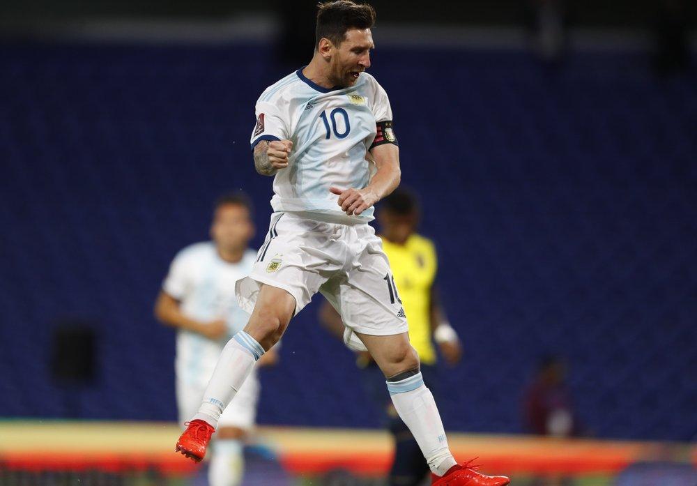 Messi, otra vez al rescate de Argentina en eliminatorias