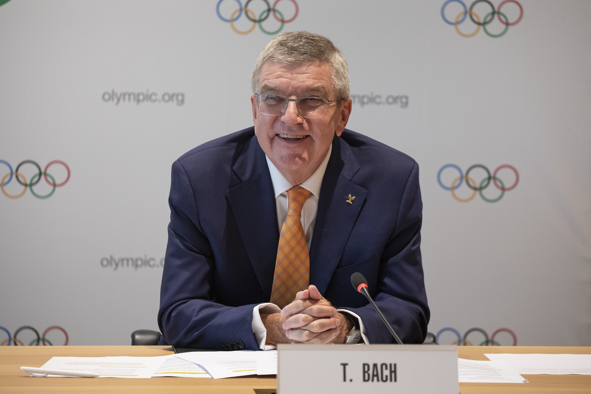 Bach asegura que atletas de los Jefes de Misión cumplirán sueño olímpico en Tokio