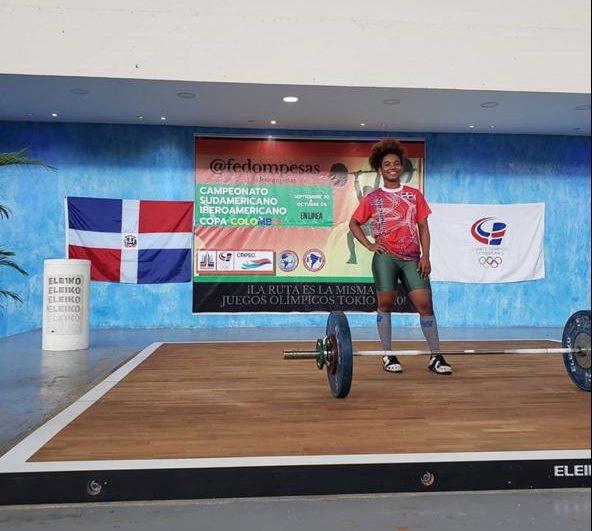 Dominicana obtiene cinco medallas primera jornada campeonato virtual de halterofilia