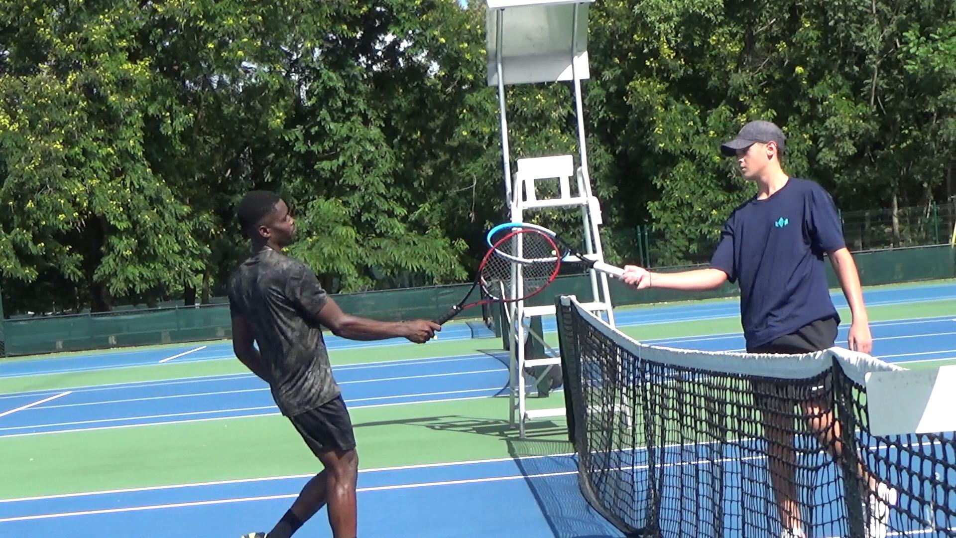 Torneos J5 Santo Domingo de tenis finalizan