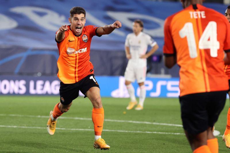 Shakhtar sorprende al Real Madrid en debut en la Liga Campeones