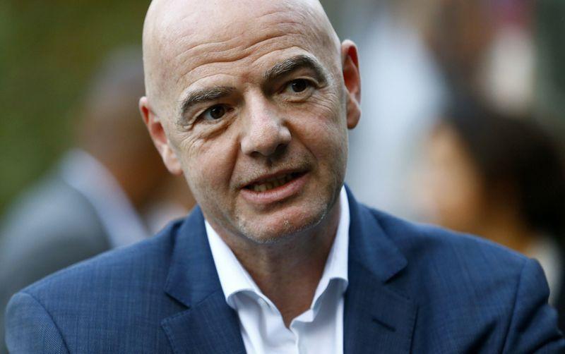 Presidente de la FIFA, Gianni Infantino, positivo por COVID-19