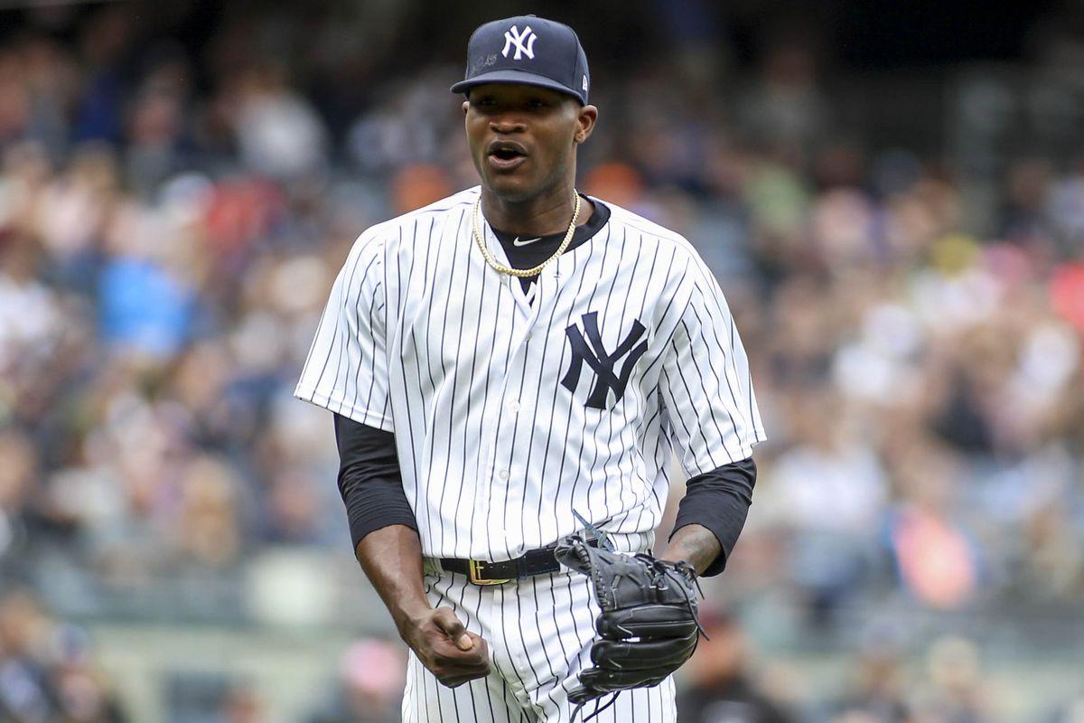 Yankees reinstalan a Domingo Germán, pero no puede lanzar en postemporada