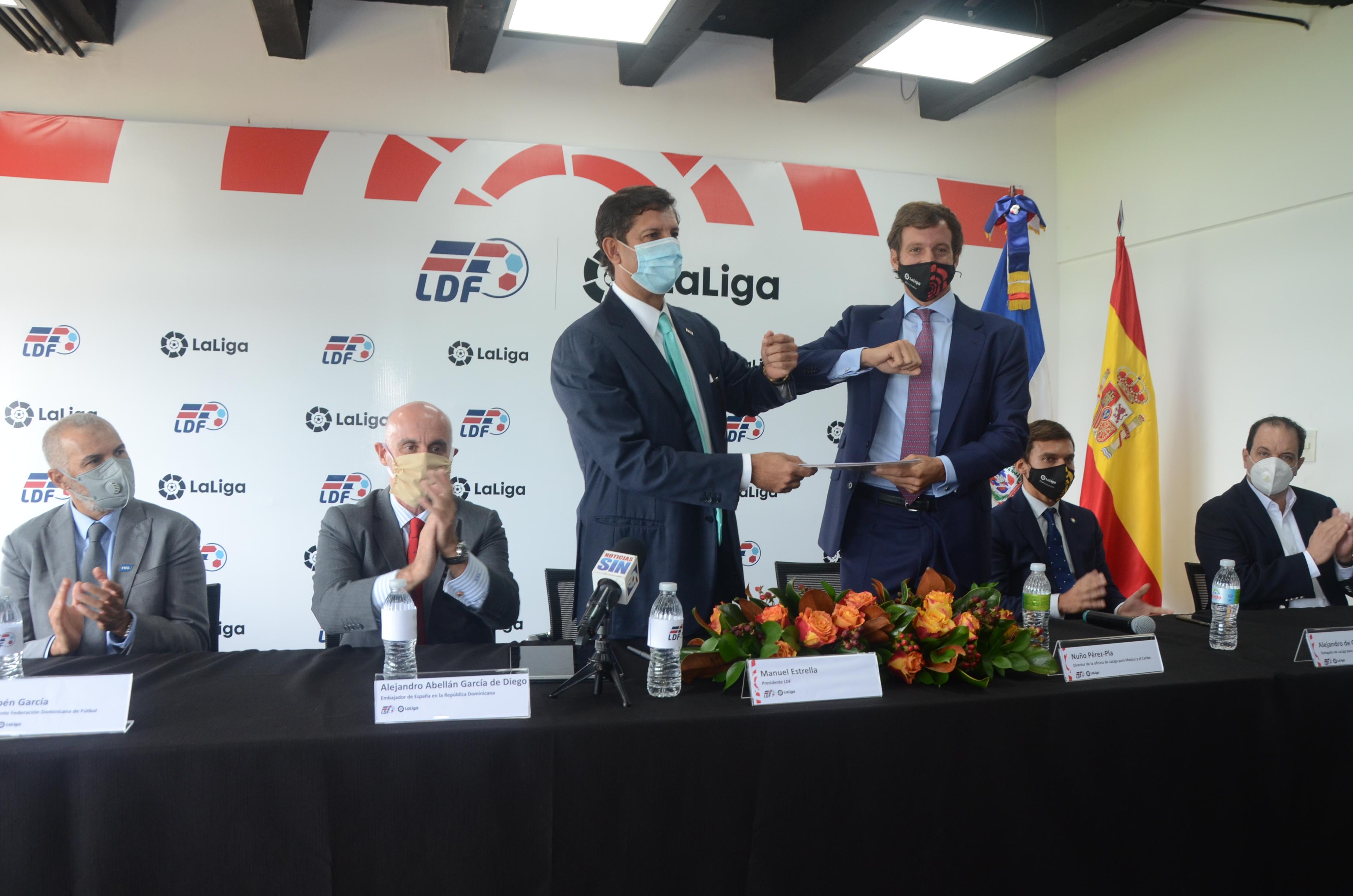 Liga de Fútbol Profesional de España y La LDF firman un acuerdo de colaboración