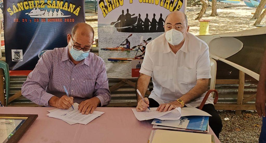Fedoreca y Alcaldía de Sánchez suscriben acuerdo de cooperación