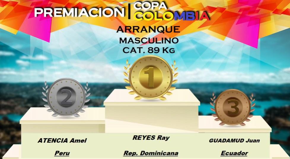 Selección dominicana de pesas brilla con 12 medallas en Copa Colombia