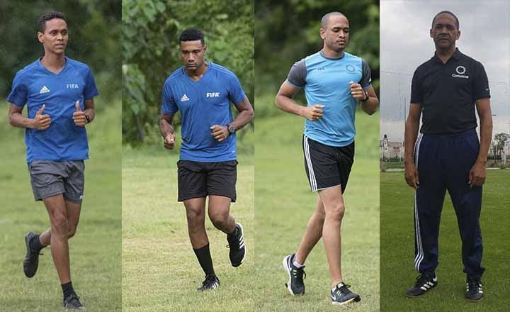 Cuatro dominicanos fueron designados para juzgar en partido de Liga Concacaf 2020