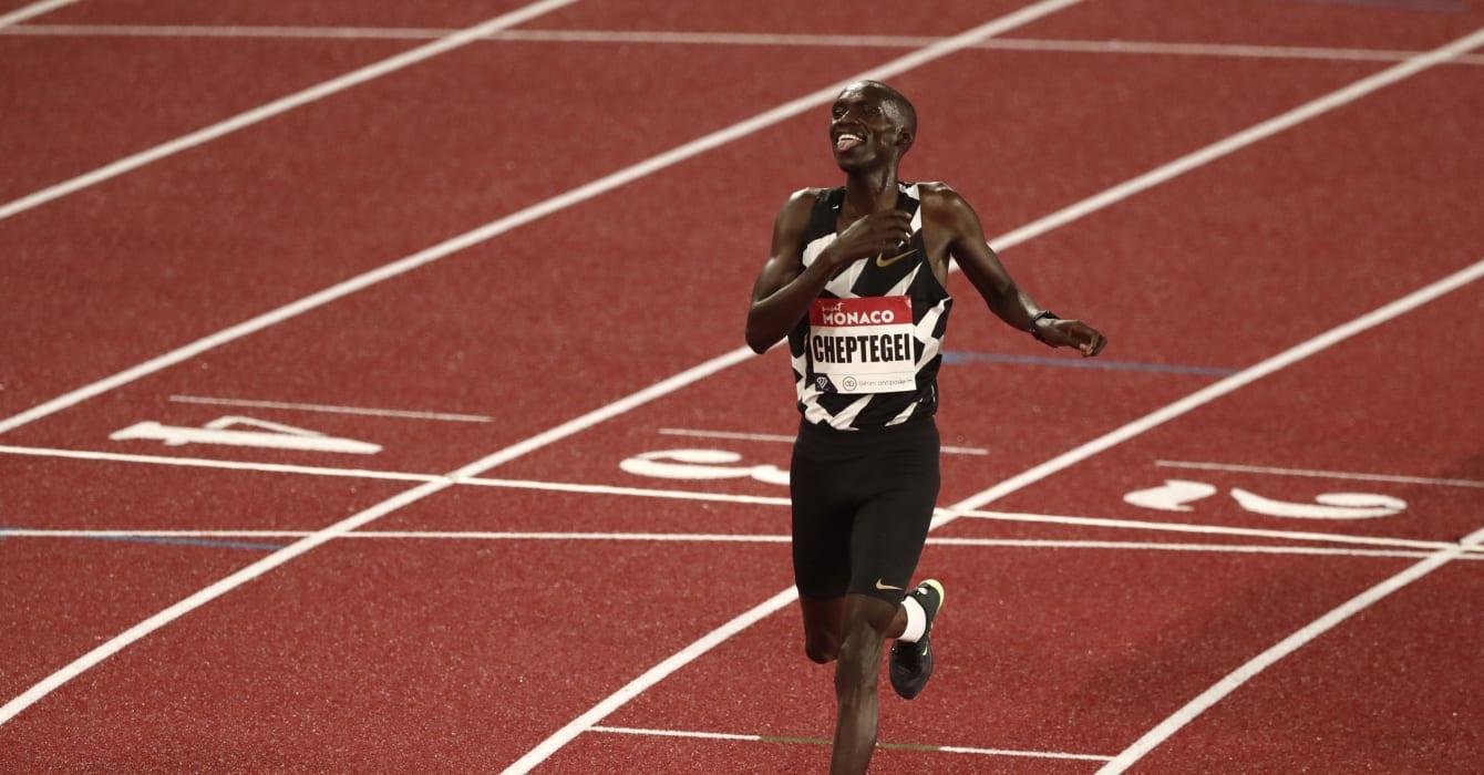 Letesenbet Gidey y Joshua Cheptegei, récords del mundo en 5.000 y 10.000 metros