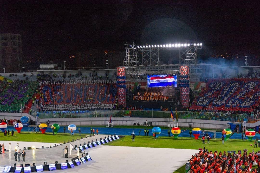 Los Juegos Suramericanos Asunción 2022 levantarán el telón en octubre del 2022