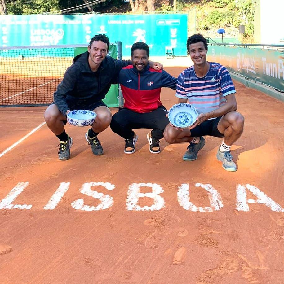 Cid se viste de campeón en Portugal, tercer dominicano en ganar torneo ATP Challenger