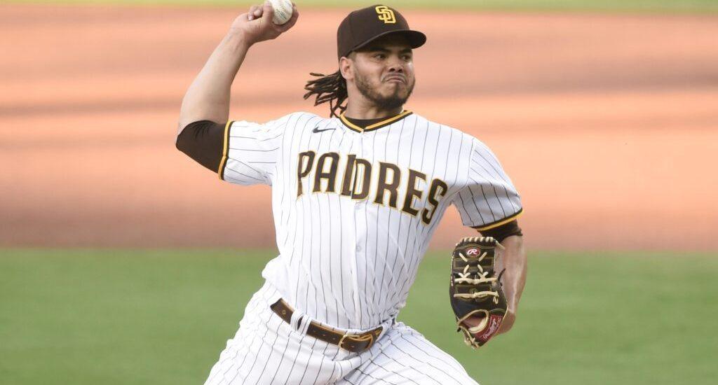 Lamet fuera del roster de los Padres en serie contra Dodgers