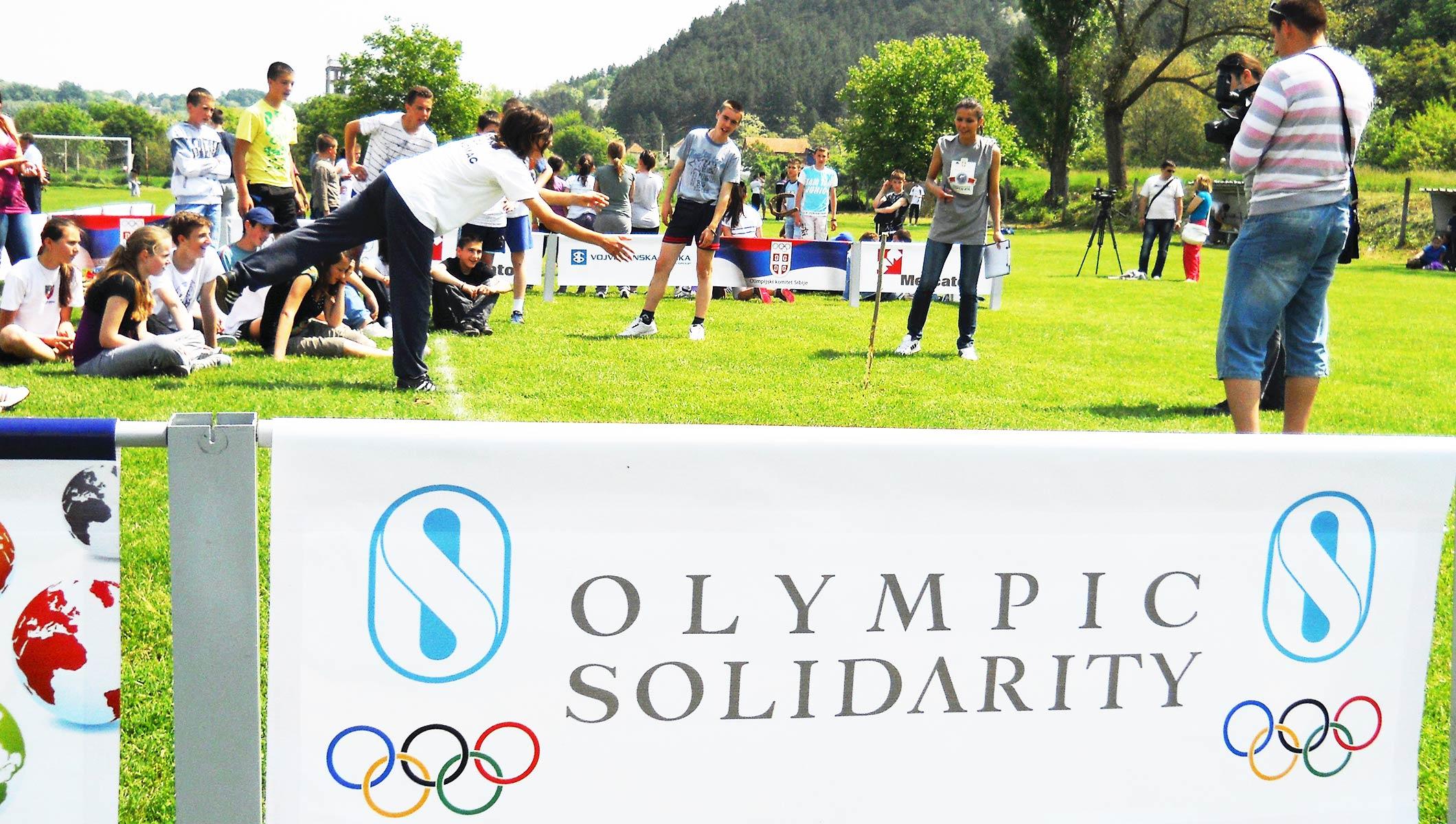 Solidaridad Olímpica, programa global al servicio de la universalidad del deporte