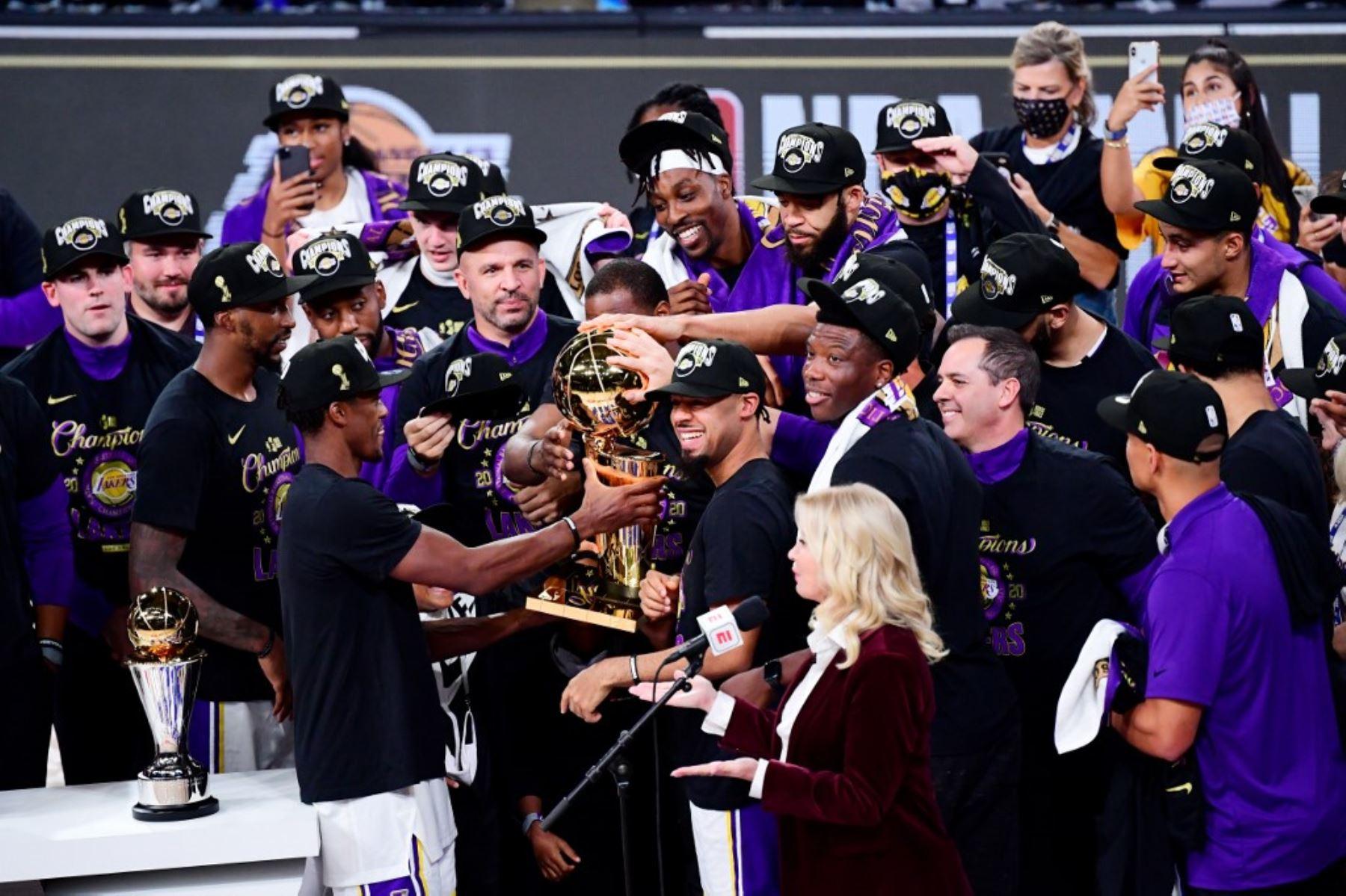 Lakers conquistan corona 17; LeBrom James, Jugador Más Valioso