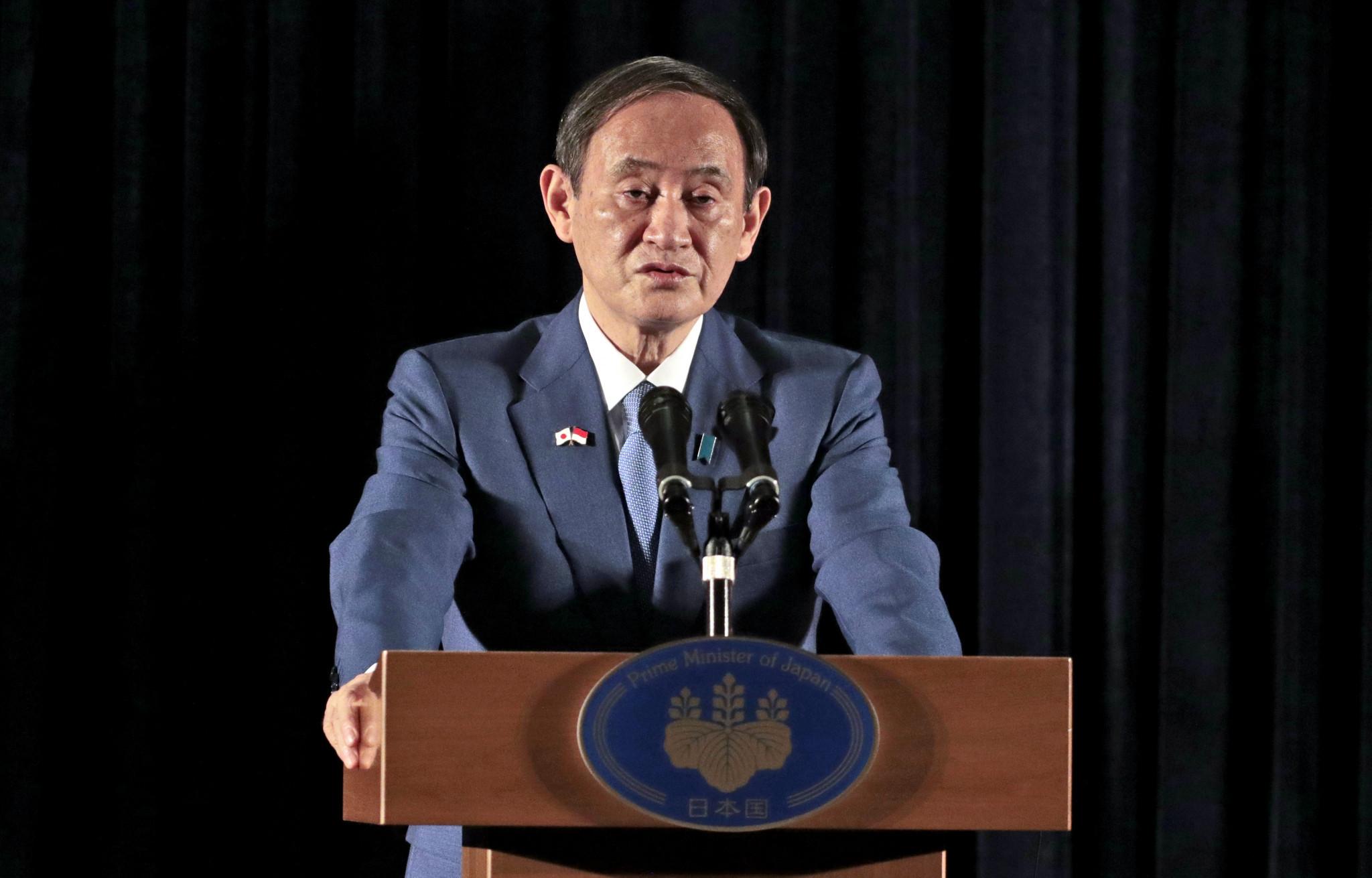 Primer ministro japonés reiterará su compromiso de celebrar Tokio 2020