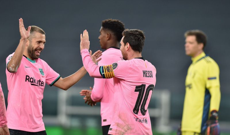 El Barcelona logra victoria de prestigio ante la Juve en Champions