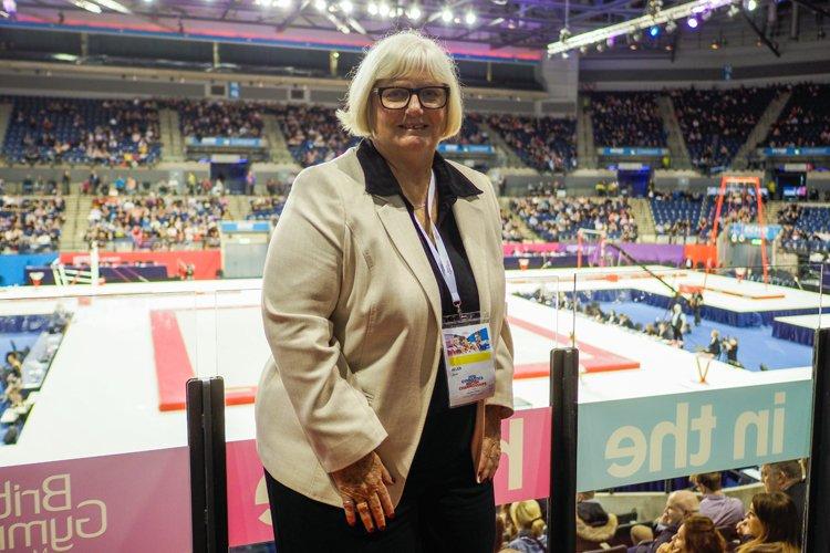 Jane Allen MBE se retirará de su puesto en British Gymnastics