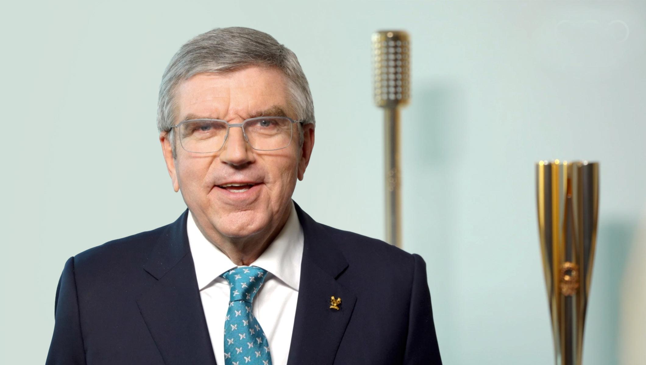 Presidente COI destaca papel del deporte y solidaridad en Año Nuevo