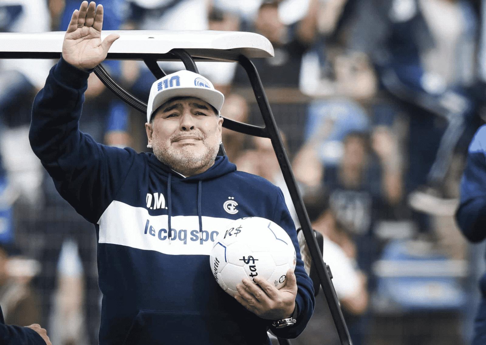 Herederos de Maradona pueden