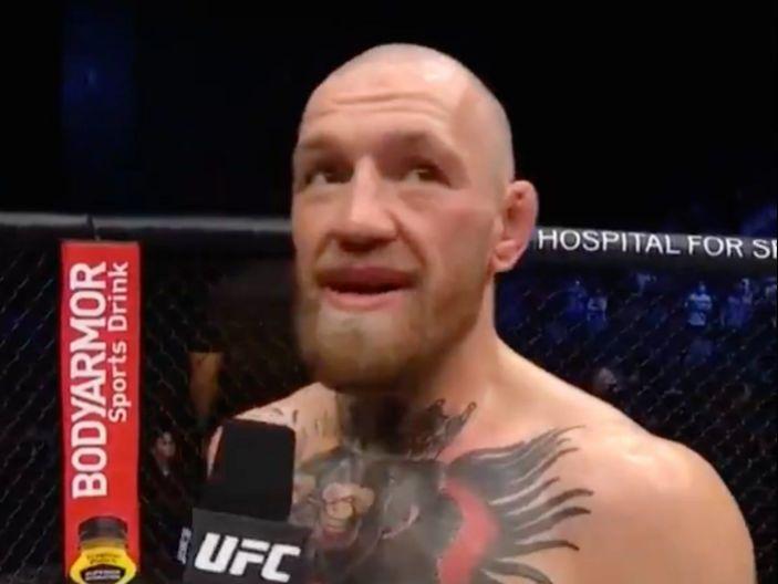 """""""Estoy destrozado"""": McGregor tras ser noqueado por Dustin Poirier"""