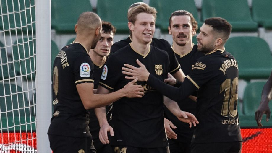 Barcelona sumó quinta victoria seguida; Atlético de Madrid gana