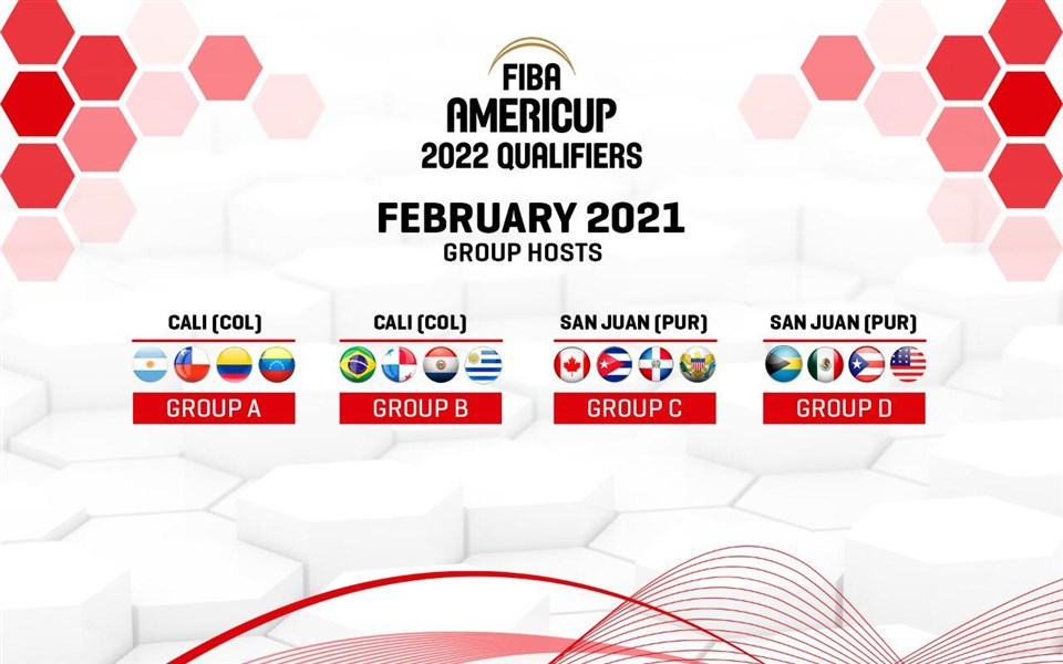 Colombia, Puerto Rico serán anfitriones tercera ventana Clasificatoria FIBA AmeriCup