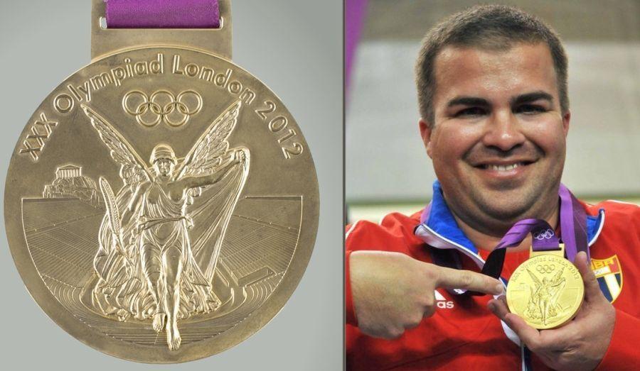 Medallas de campeones olímpicos cubanos en subasta