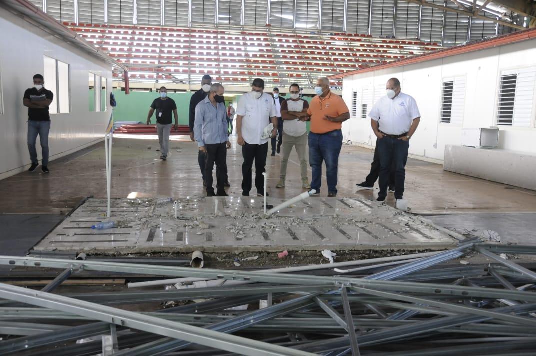 Camacho anuncia la remodelación del bajo techo de Bonao