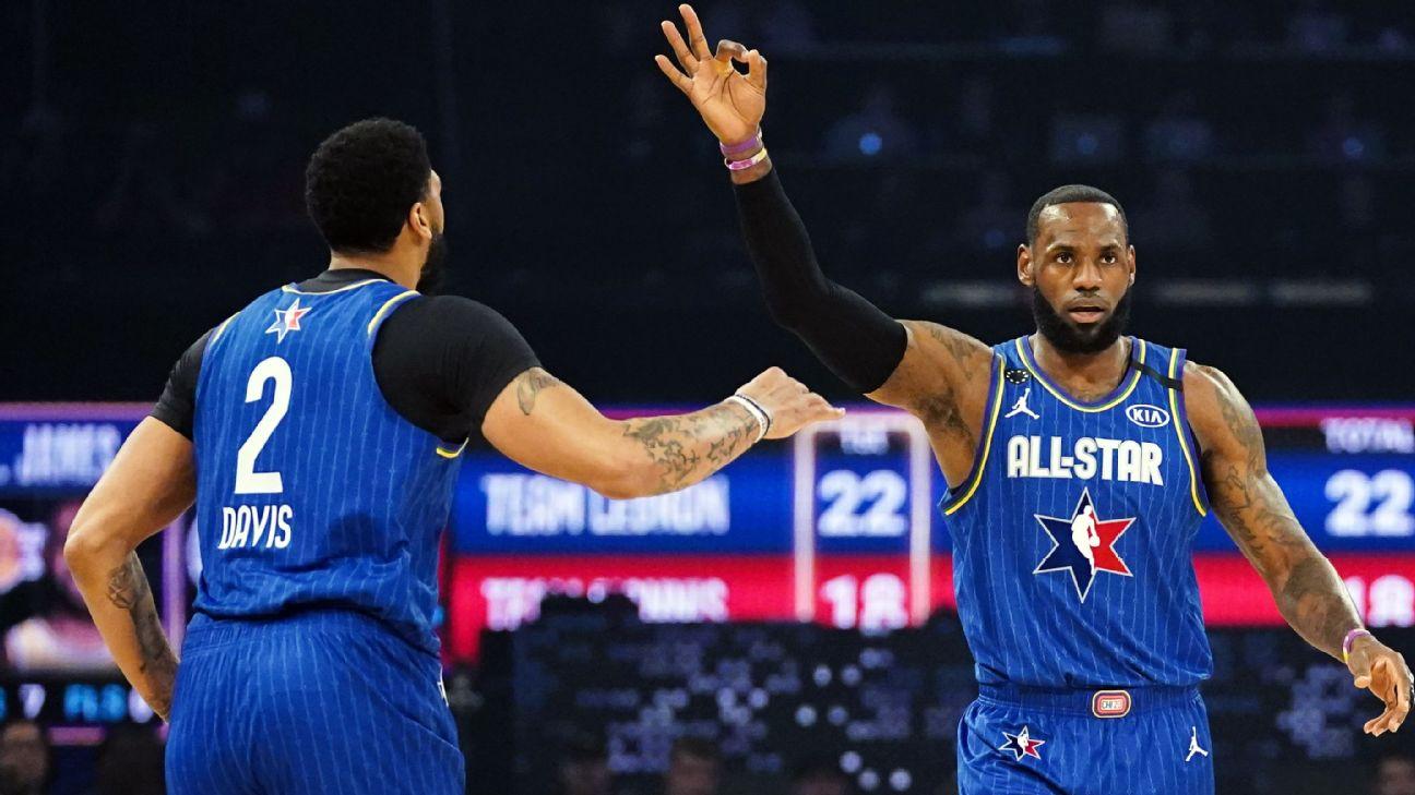 Votaciones para partido Todos Estrellas de la NBA inician este jueves