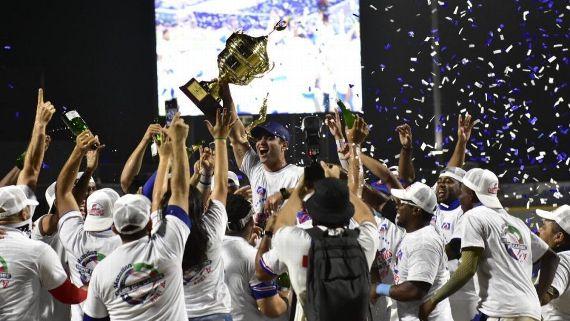 Caimanes blanquea a Vaqueros y es campeón en liga colombiana