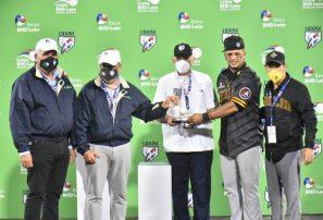 Juan Lagares recibió premio de Jugador Más Valioso de la final