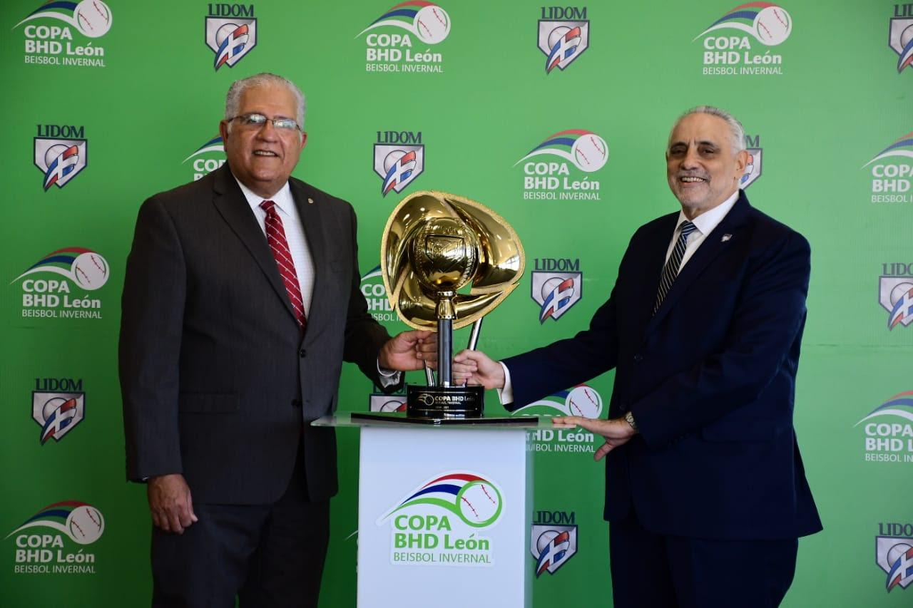 Lidom y Banco BHD-León presentan Copa de Campeón del torneo 2020-21