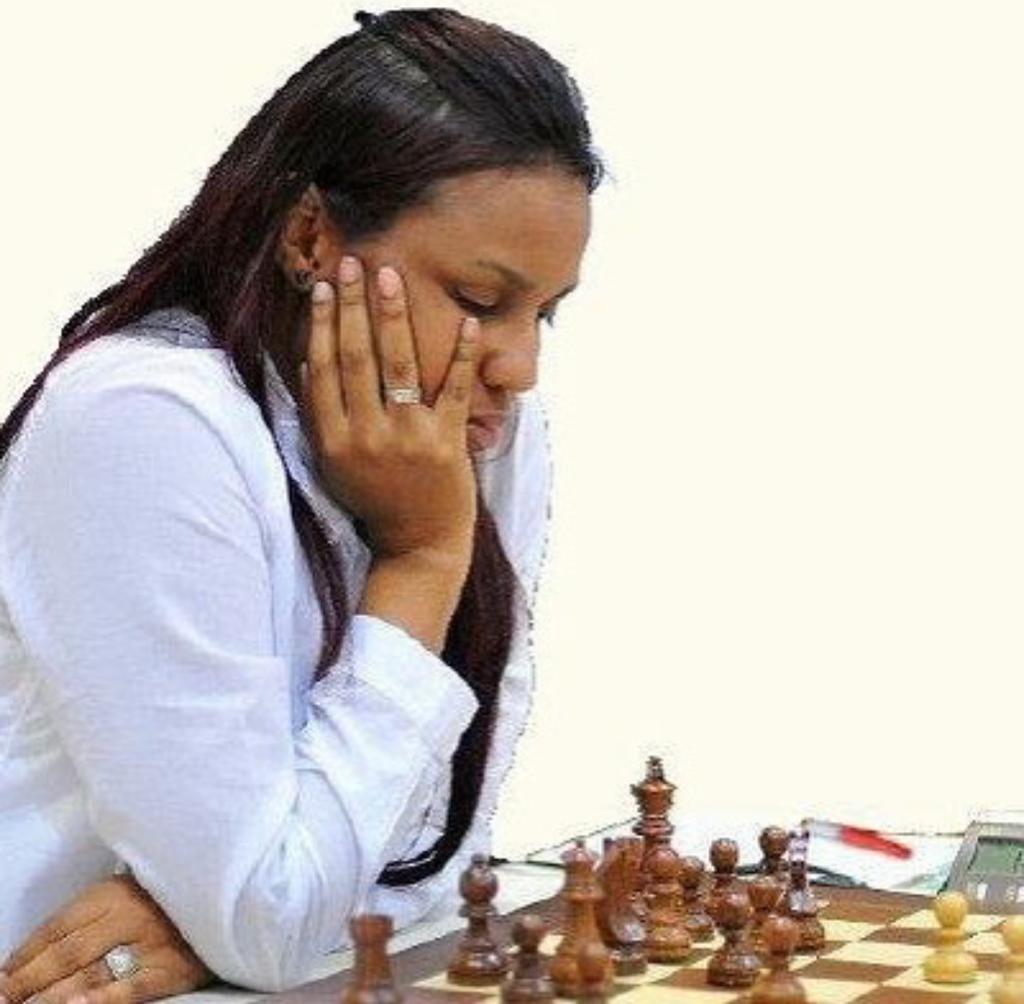 Omayra Aybar, primera mujer organizadora internacional ajedrez de República Dominicana