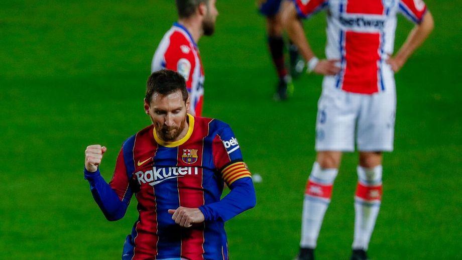Barcelona golea al Alavés; Atlético de Madrid sigue líder en La Liga