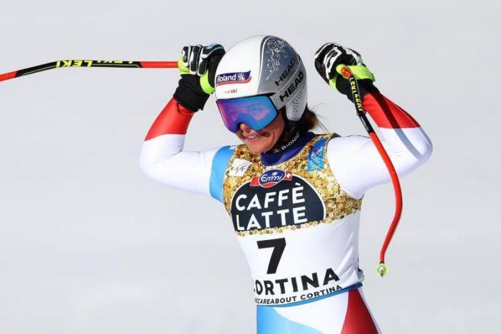 Corinne Suter, nueva campeona mundial esquí alpino de descenso