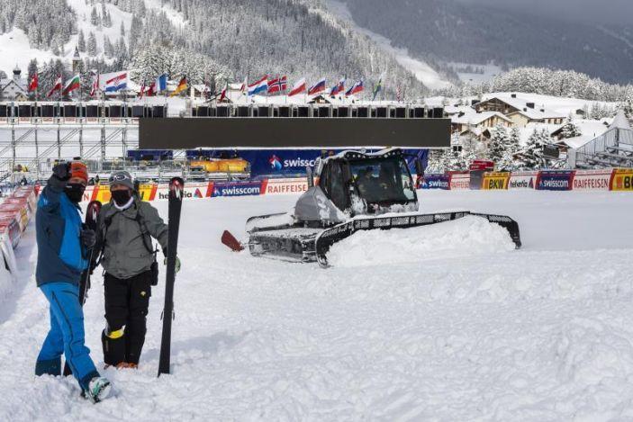 Feuz y Goggia, campeones; suspendidos los descensos de Lenzerheide