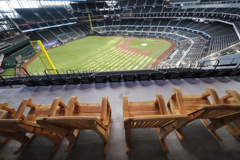 Rangers de Texas serían primer equipo de MLB con estadio lleno