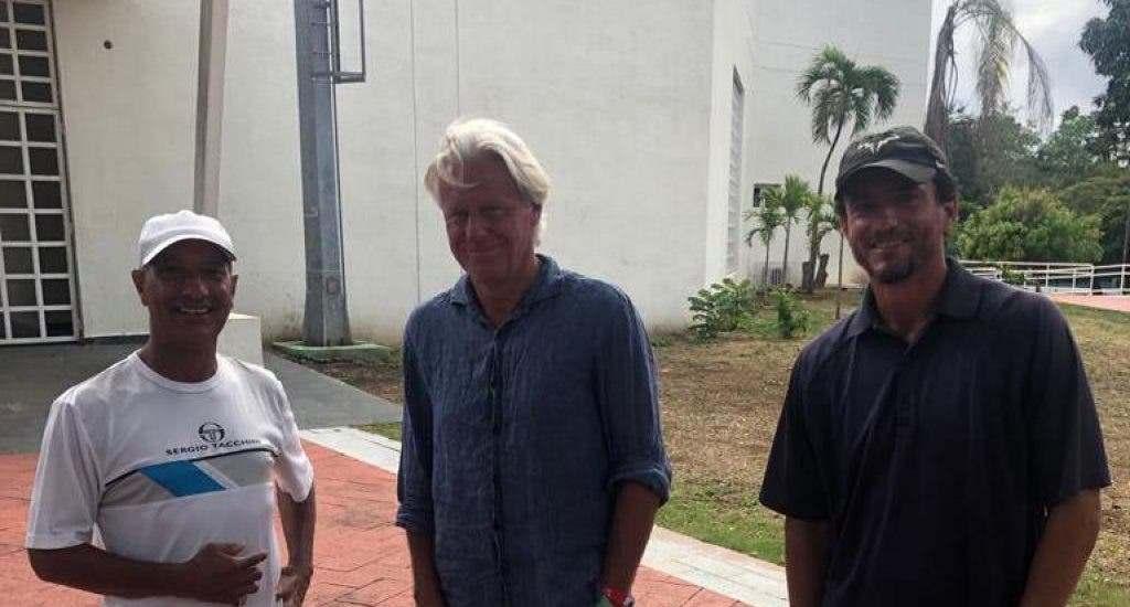 La leyenda del tenis Björn Borg se encuentra en República Dominicana