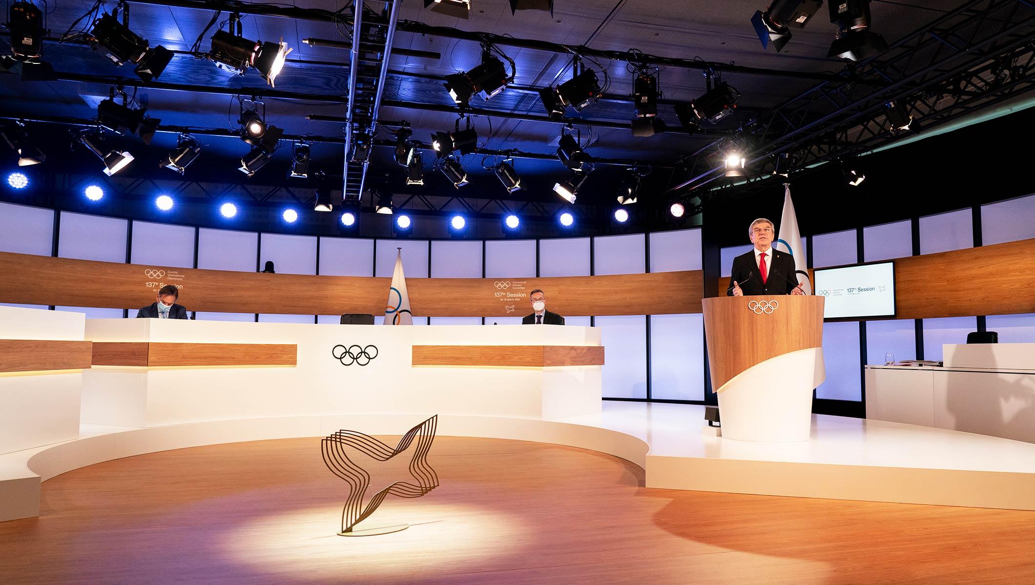 Bach considera apoyo de comunidad internacional es señal de confianza para Tokio 2020