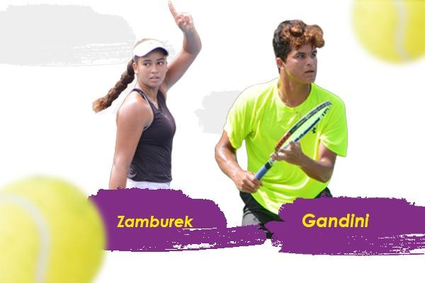 Zamburek y Gandini, opciones de Fedotenis para Panamericanos Junior