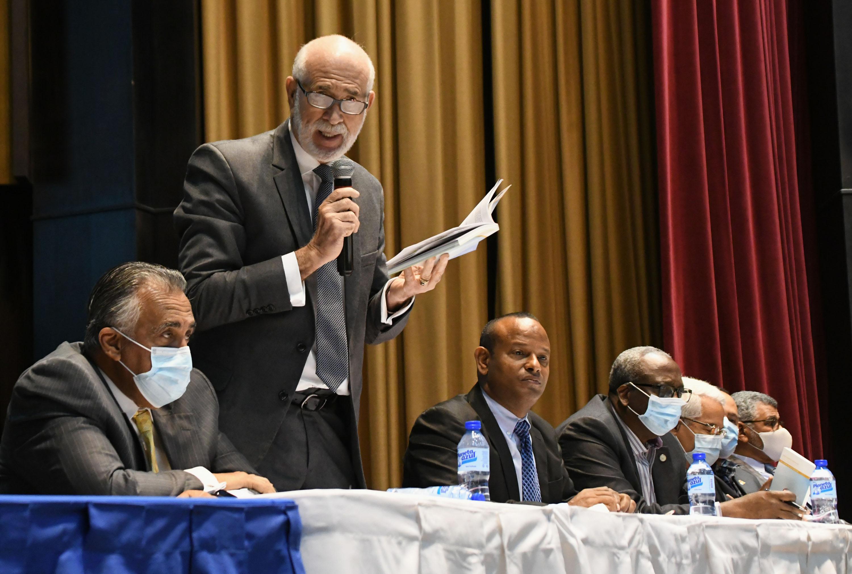 Asamblea COD ratifica orden sucesoral miembros comité ejecutivo