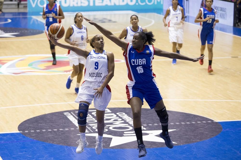 República Dominicana se enfrenta a Cuba en inicio de Centrobasket femenino 2021