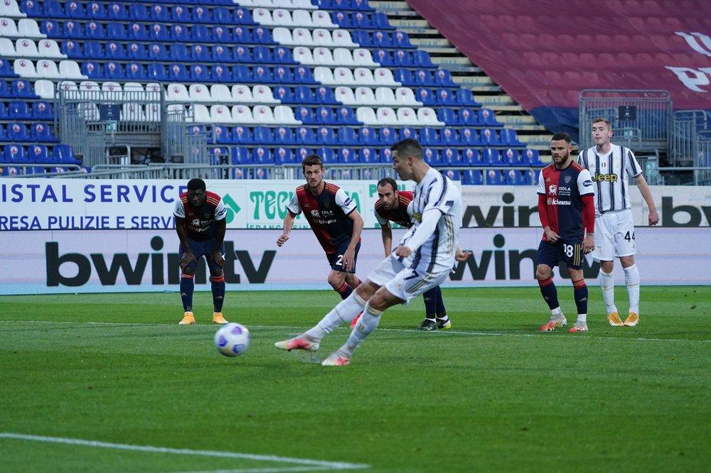 Cristiano responde a tripleta, Lautaro da victoria al Inter