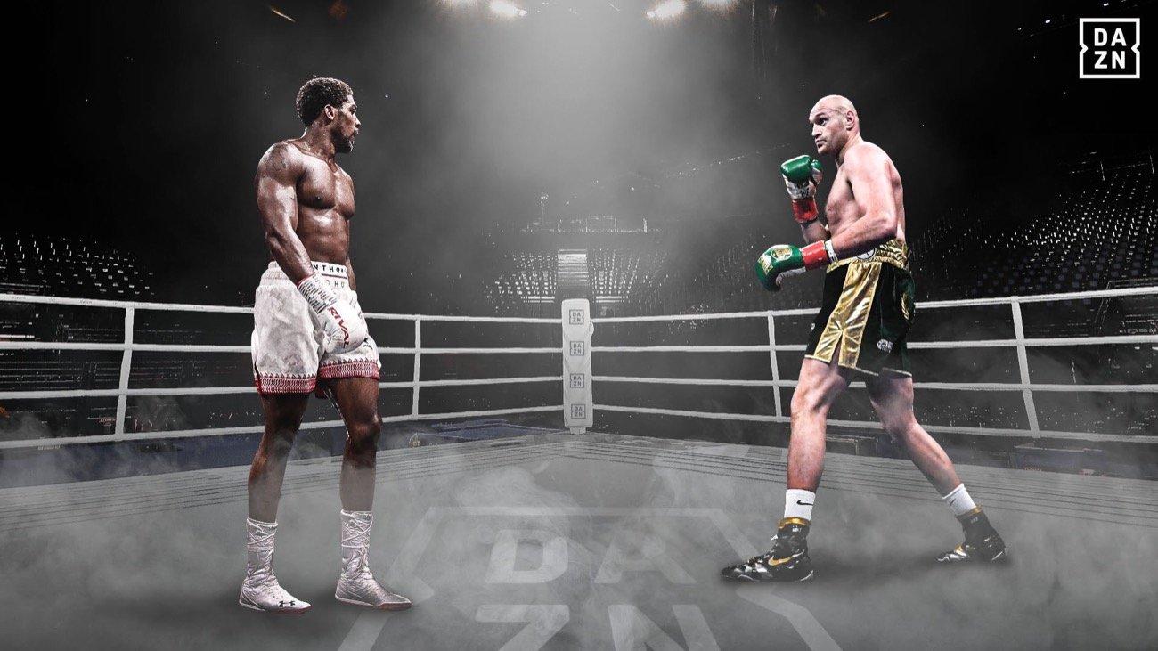 Anthony Joshua y Tyson Fury firman dos peleas para unificación