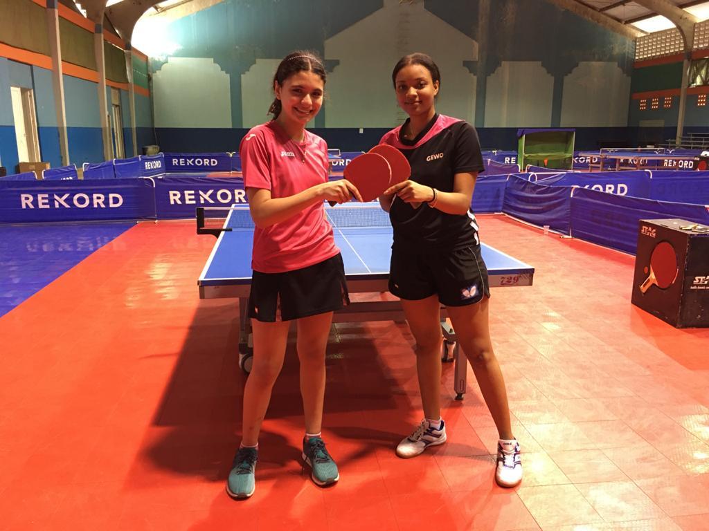 Castro y Gálvez lideran eliminatorias tenis mesa para clasificatorios