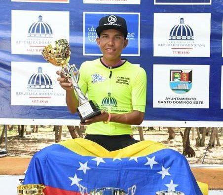 Venezolano Ramírez, el gran campeón de la Vuelta Independencia