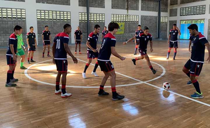 Sedofútbol de sala se prepara de cara al Campeonato Premundial de Concacaf