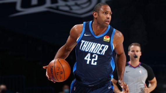 Oklahoma City Thunder sentará a Horford para los juegos restantes