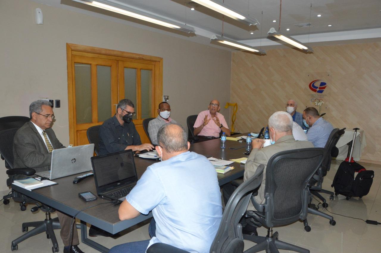 Comisión de Revisión de los Estatutos del COD se reunió este viernes