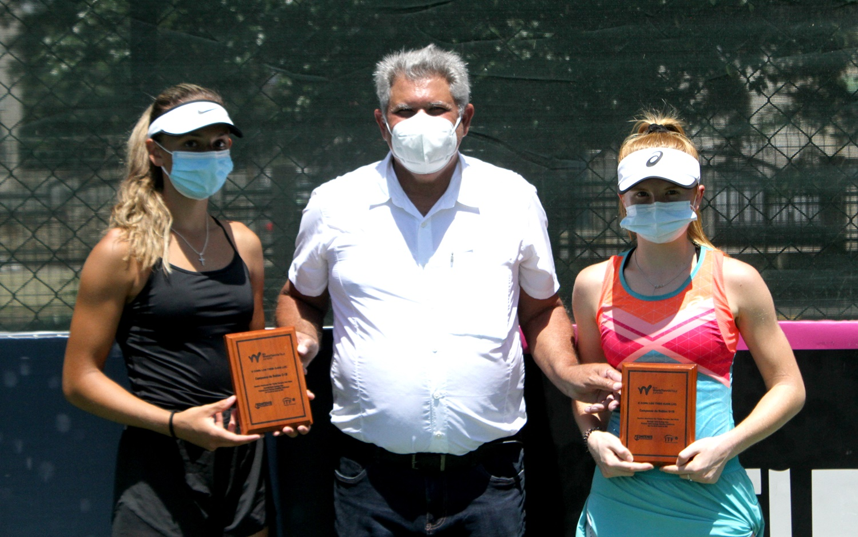Pieczkowski, Pieczonka, Milicevic y Bissett, campeones de dobles Copa Los Tres Ojos